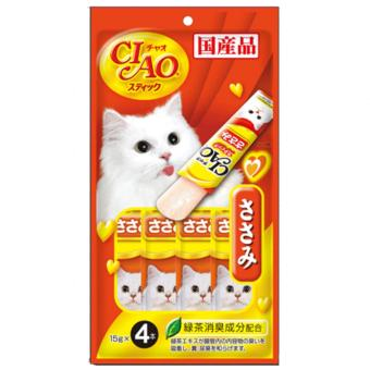 Harga Ciao Stick Chicken Fillet in Jelly Cat Treat Snack 14g 4 Pack Set of 3