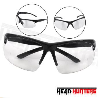 Protech Fashionable Motorcycle Riders Unisex Sunglasses - Sun Protector Shades (Clear) Price Philippines