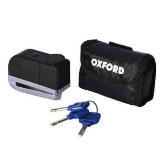 Harga Oxford OF229 Screamer Disc Lock with Alarm (Black/Silver)