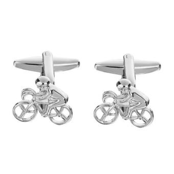Harga MagiDeal 1 pair Cycling Cyclist Pendant Design Cufflinks for Men