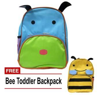 School Bag Dog Toddler Back pack with free Toddler Bee Back Pack Price Philippines
