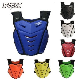 Harga Professional Fox Armor Motocross Road Racing Motorcycle Armors Jacket Protective Gear (Black)