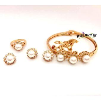 MEI MEI Crystal Pearl 14k Bangkok Jewelry Set Price Philippines