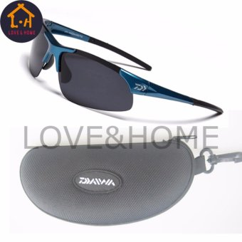 LOVE&HOME DAIWA Outdoor Sport Fishing Cycling, Climbing Sunglasses Men or Women (Blue) Price Philippines