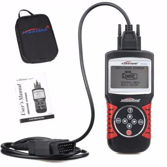 Harga KONNWEI KW820 Car Scanner EOBD OBD2 OBDII Diagnostic Tool Live Code Reader & Scan Tools compliant US, European and Asian vehicle - intl