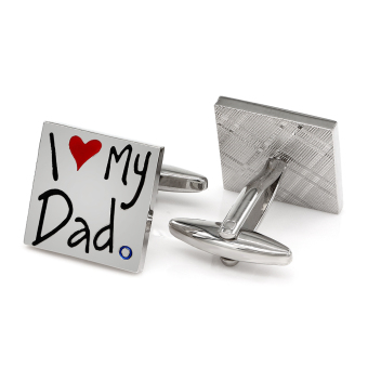 Harga Kemstone I Lover My Dad Cufflinks Father's Day Gift - intl