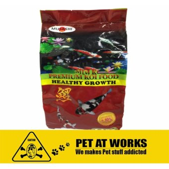 Harga Musashi Premium Koi Food 5.5kg (Healthy Growth) Large Pellets Specially made for KOI, Goldfish and Tropical Fisher