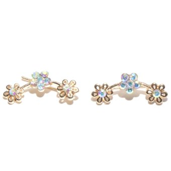Lucky Yeng Ear Cuff Style Flowers (Yellow) Price Philippines