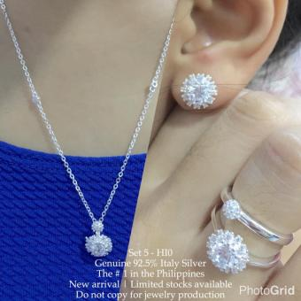 Harga Silver Kingdom PH Tiffany Jewelry Set V7