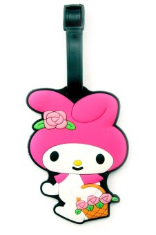 Travel Manila Character Luggage Bag Tag with Name, ID, Address Label ( Melody ) Price Philippines