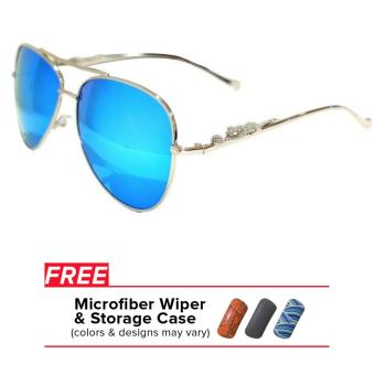 32sunny Jasmine Blue/Silver Aviator Sunglasses Price Philippines