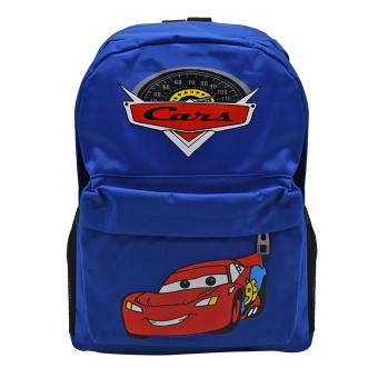 School Back Pack Bag Cars Design (Blue) Price Philippines