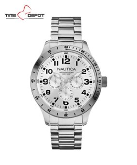 Nautica Men's Multifunction Stainless Steel Strap Watch NAD01455G Price Philippines