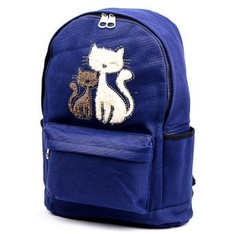 Back Pack Twin Cats with Stud Design Price Philippines