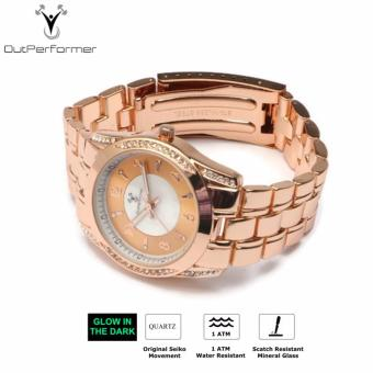 Harga Outperformer Chronology Series Catania Women's Watch with Luminous Hands and Original Seiko Movement