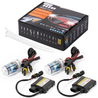 H8/H9/H11 55W 6000K 12V HID Xenon Conversion Kit Silm Bulb Ballast Hi/Lo LD714 Price Philippines