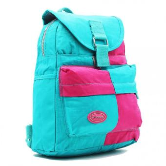 Urban Hikers Knox Casual Daypack Backpack (Arctic Blue/Pink) Price Philippines