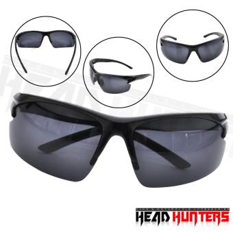 Protech Fashionable Motorcycle Riders Unisex Sunglasses - Sun Protector Shades (Black) Price Philippines