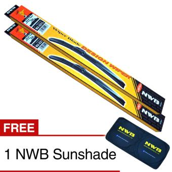 NWB DESIGN Wiper Blade for Hyundai Getz 2009-2015 - (SET) Price Philippines