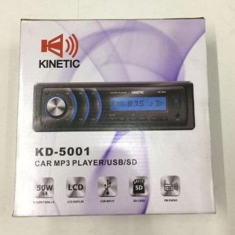 Harga Kinetic Car Stereo No CD - USB AUX SD FM KD-5001