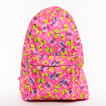 Waterproof Foldable Kiddie Back Pack Butterfly Design Price Philippines
