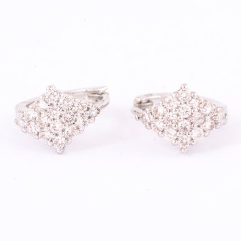 Harga Glamorosa Diamond Earrings (White Gold)