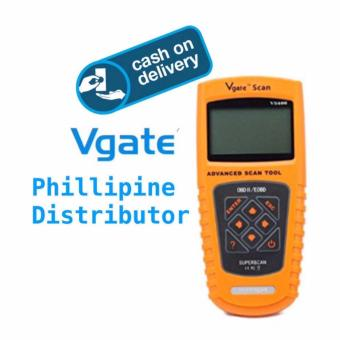 Harga Vgate VS600 Code Reader Scan Tool Advanced OBD2 EOBD Scanner-LOCAL SUPPLIER