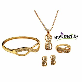 14k bangkok gold 4 in 1 Infinity Set Price Philippines