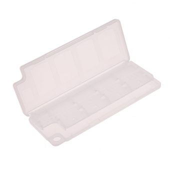 Harga 10in1 Game Memory Card Holder Storage Case Box for PS/Vita/ER/PSV (White) - intl