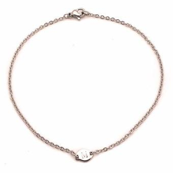 Harga Steel Tiny Anklet M (silver)