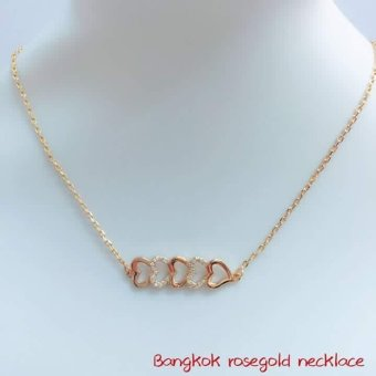 14k bangkok rose gold necklace Price Philippines