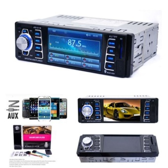 In Dash Car MP5 Player USB/TF MP3 Stereo Audio Receiver Bluetooth FM Radio - intl