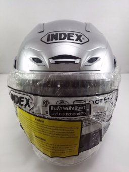 Index Motorcycle Helmet Titan I-Shield (Silver)