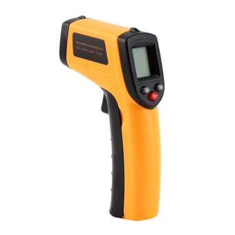 Infrared Thermometer -50~380?C 12:1 Handheld Non-contact Digital Infrared IR Thermometer Temperature Tester Pyrometer LCD Display with Backlight - intl - 4
