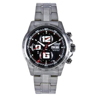 Ingersoll IN3202BKMB Mens Appomatox Black Dial Steel Watch - intl