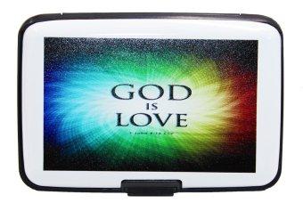 Inspire Bible Verses Card Holder God is Love (White)