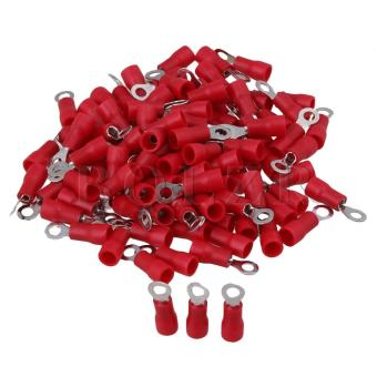 Insulated Crimp Connector Electrical Wiring Terminal Red