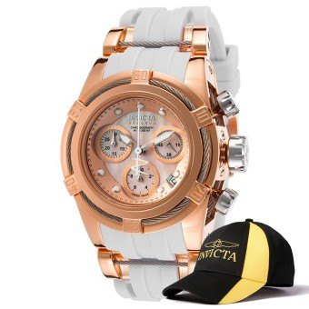 Invicta Bolt Lady 40mm Case 0 0 Strap 0 Dial Quartz Watch 15284& Baseball Cap Hat - Intl Price Philippines