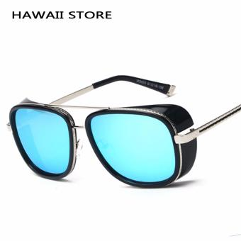 IRON MAN 3 Matsuda TONY Steampunk Sunglasses Men Mirrored Designer Brand Glasses Vintage Sun glasses Price Philippines