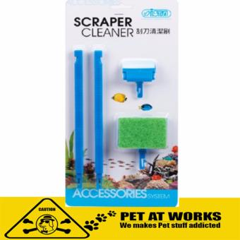 ISTA Scraper Cleaner For Planted Tank and Fish Aquarium Cleaner