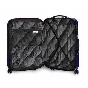 IT Luggage London Corona Large Hard Side Expander 8 Wheel 100%Pc Suitcase Metallic Charcoal - 3