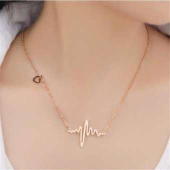J&J Heartbeat Necklace