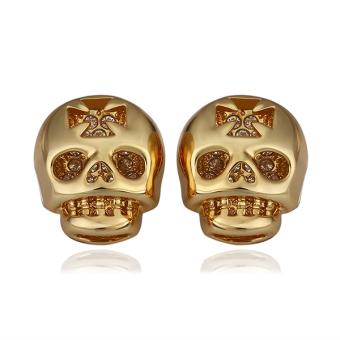 Jedi Skull 18K Gold Plated Earrings