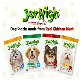 Jerhigh Treats Dog Treats for your Pet, Puppy, Dog (set of 1 CHICKEN) - 3