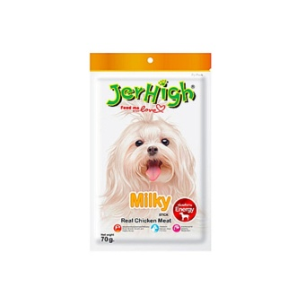 Jerhigh Treats Dog Treats for your Pet, Puppy, Dog (set of 1 MILK)