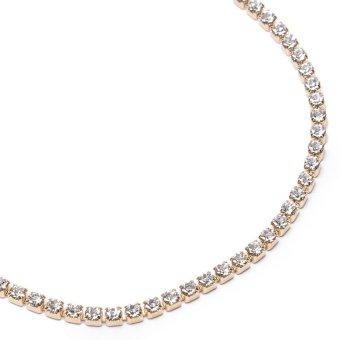 Jewelmine Tiffany 653 Tennis Zircon Bracelet (Gold) - 2