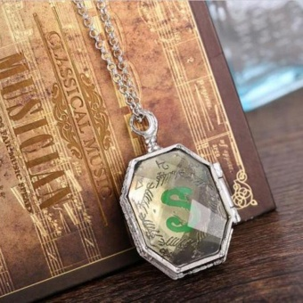 Jewelry Harry Potter Alloy Locket Horcrux Fans Pendant Necklace Accessories - intl
