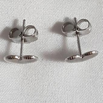 Jewelworld Bangkok Plated Earrings (silver) - 4