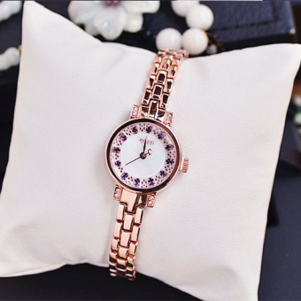 Julius Stylish crystal small waterproof watch women's watch