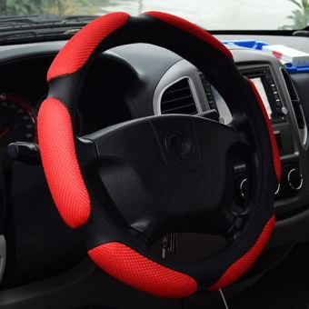 Kaxinu Non-slip Car Steering Wheel Plush Cover
